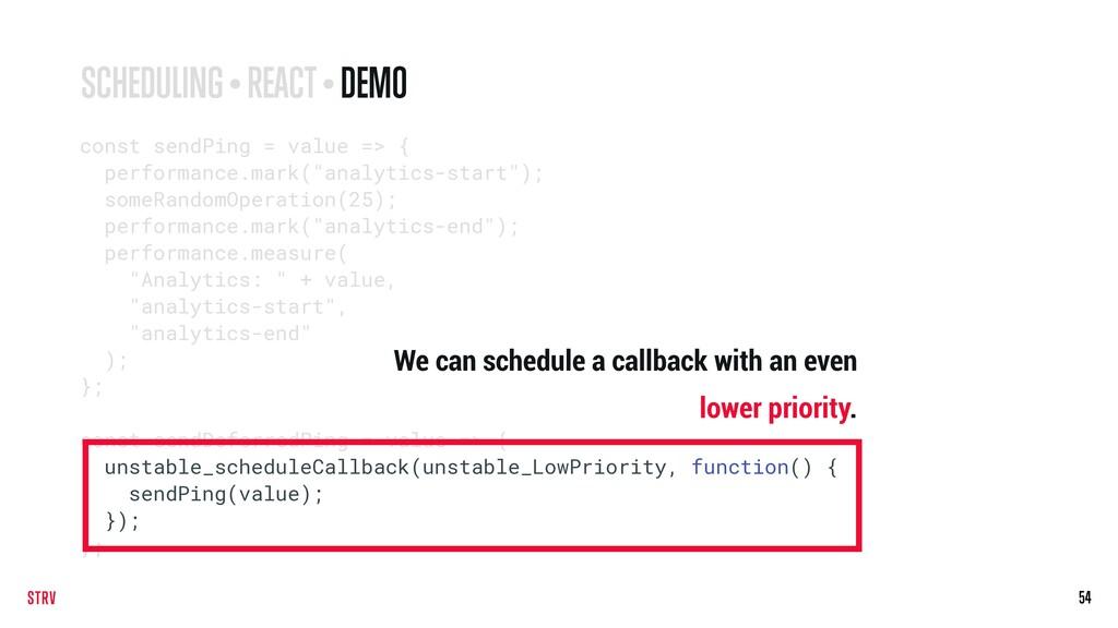 54 const sendPing = value => { performance.mark...