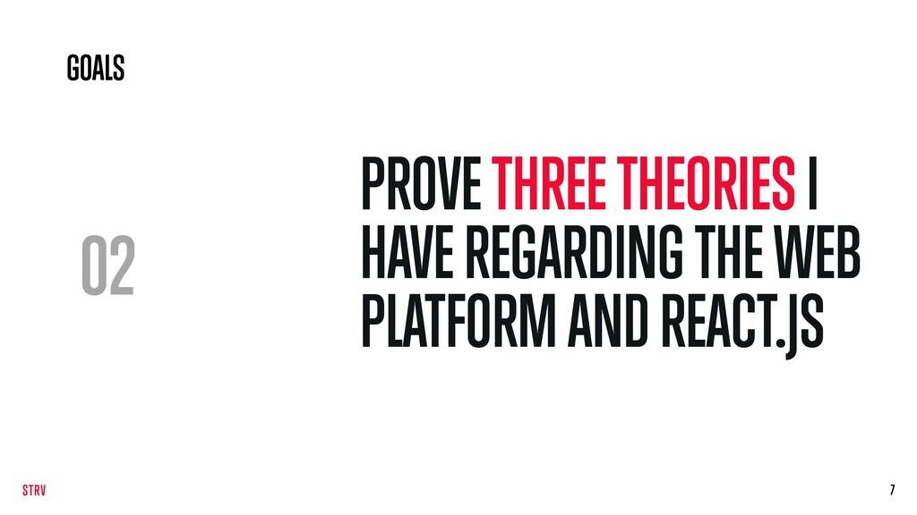 02 PROVE THREE THEORIES I HAVE REGARDING THE WE...