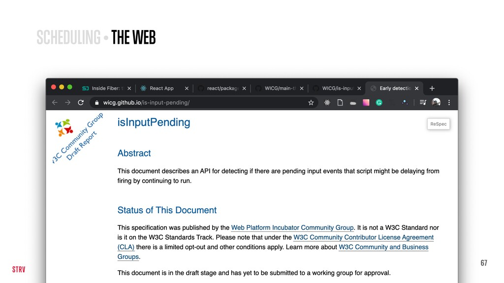 67 SCHEDULING • THE WEB