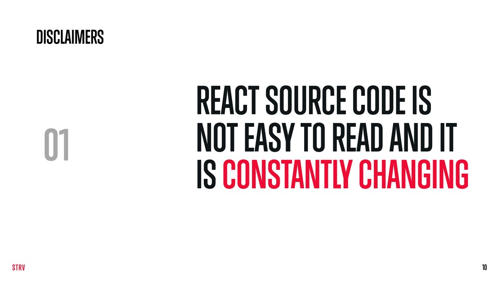 01 REACT SOURCE CODE IS NOT EASY TO READ AND IT...