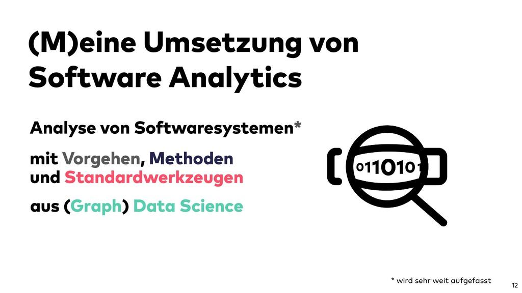 Analyse von Softwaresystemen* 12 aus (Graph) Da...