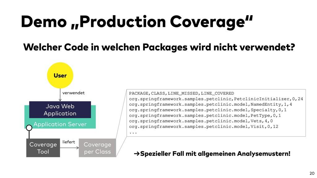 Application Server Welcher Code in welchen Pack...