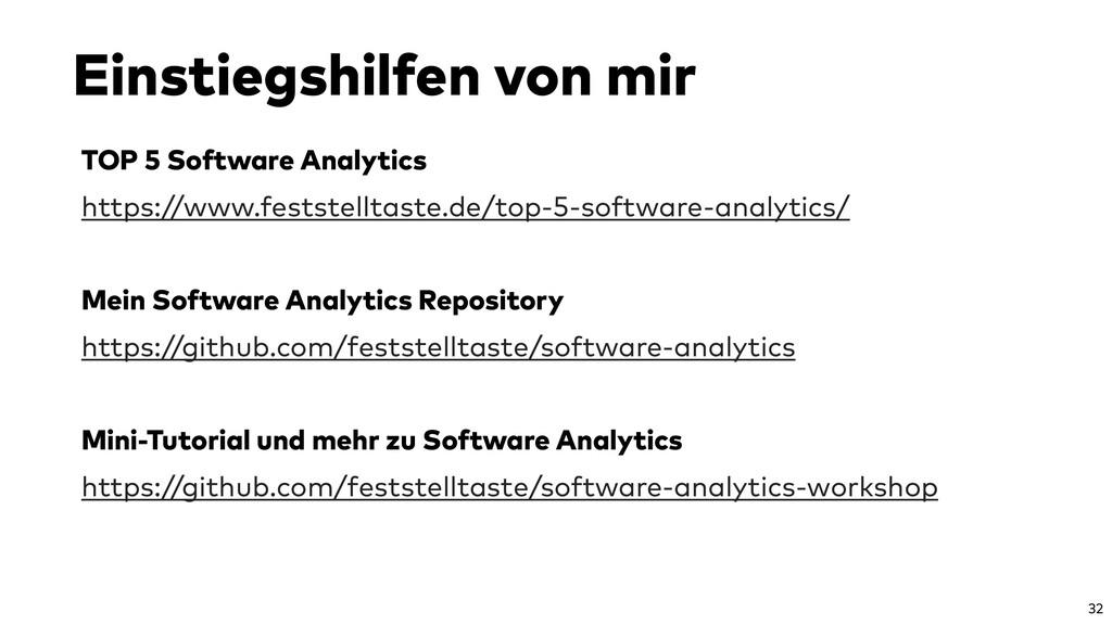 TOP 5 Software Analytics https://www.feststellt...