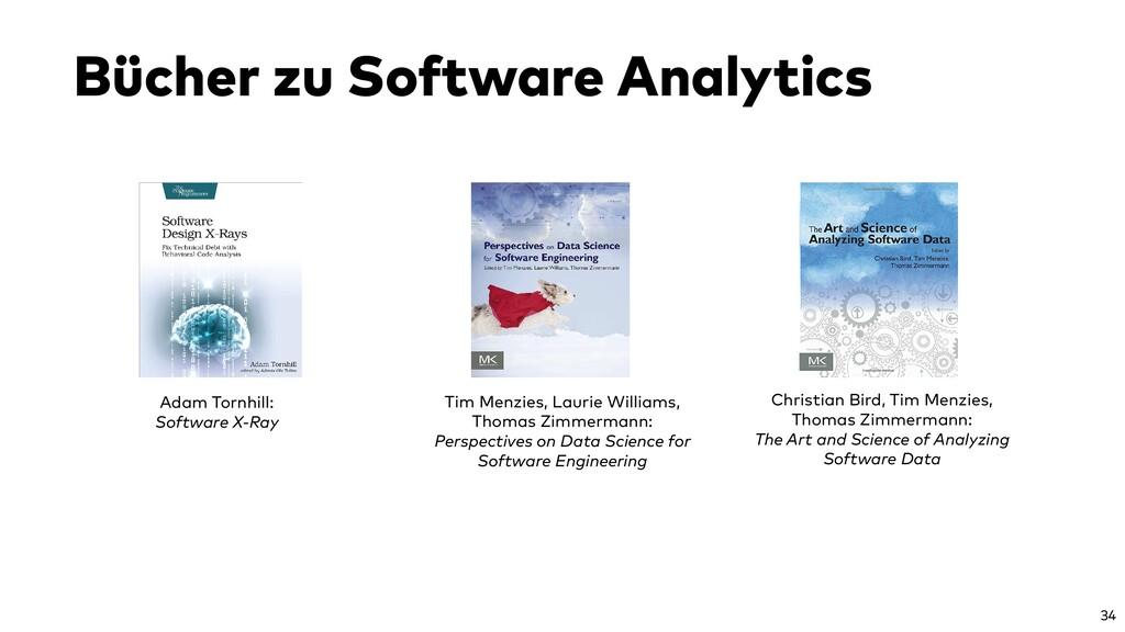 Bücher zu Software Analytics Adam Tornhill: Sof...