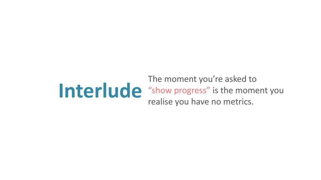 """Interlude The moment you're asked to """"show pro..."""