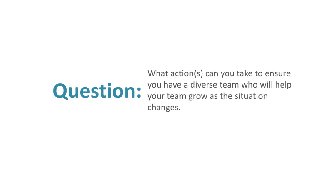 Question: What action(s) can you take to ensure...