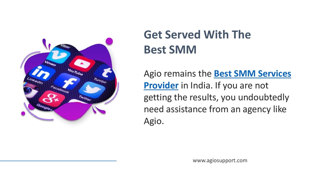 Get Served With The Best SMM Agio remains the B...