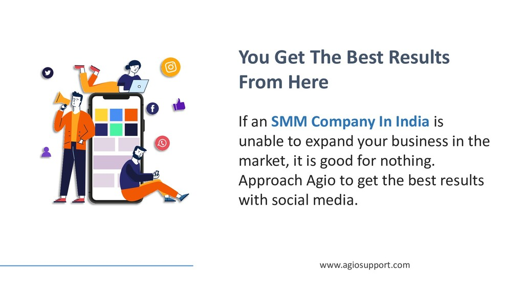 You Get The Best Results From Here If an SMM Co...