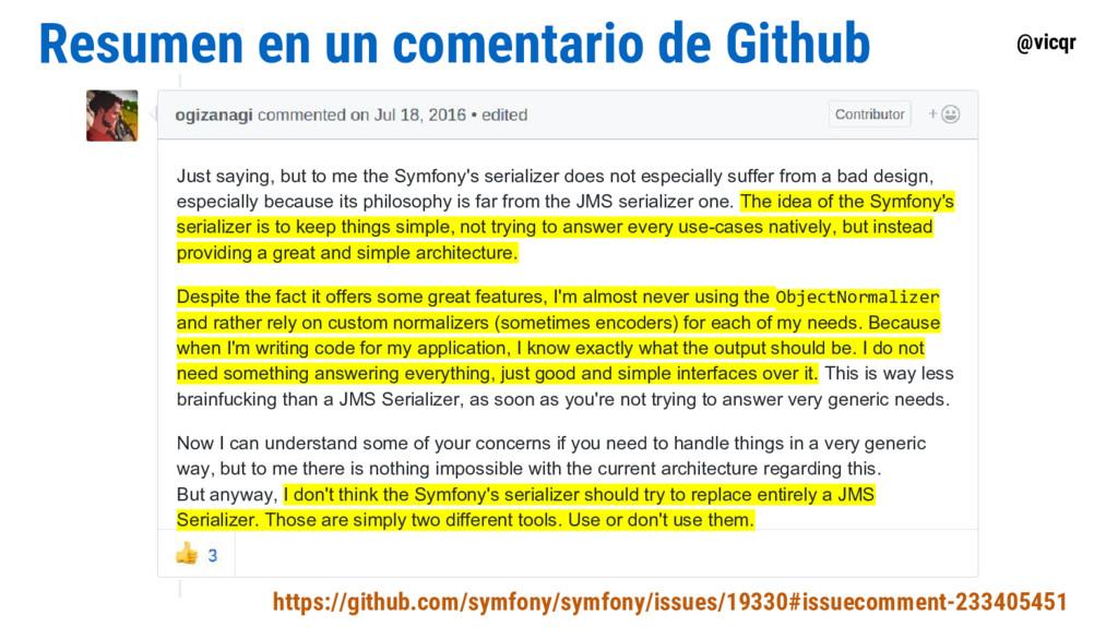 @vicqr Resumen en un comentario de Github Just ...
