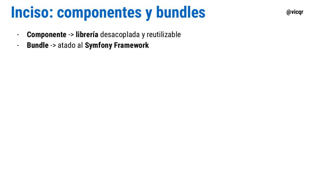 @vicqr Inciso: componentes y bundles - Componen...