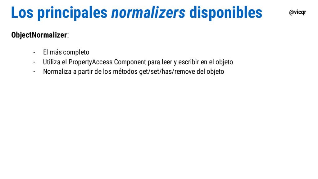 @vicqr Los principales normalizers disponibles ...