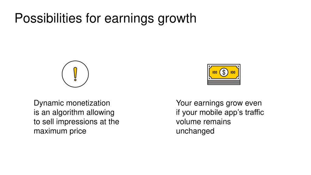 Possibilities for earnings growth Dynamic monet...