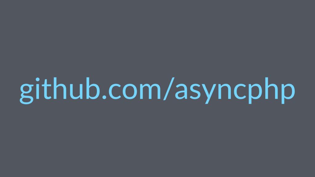 github.com/asyncphp