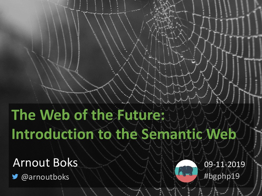 The Web of the Future: Introduction to the Sema...