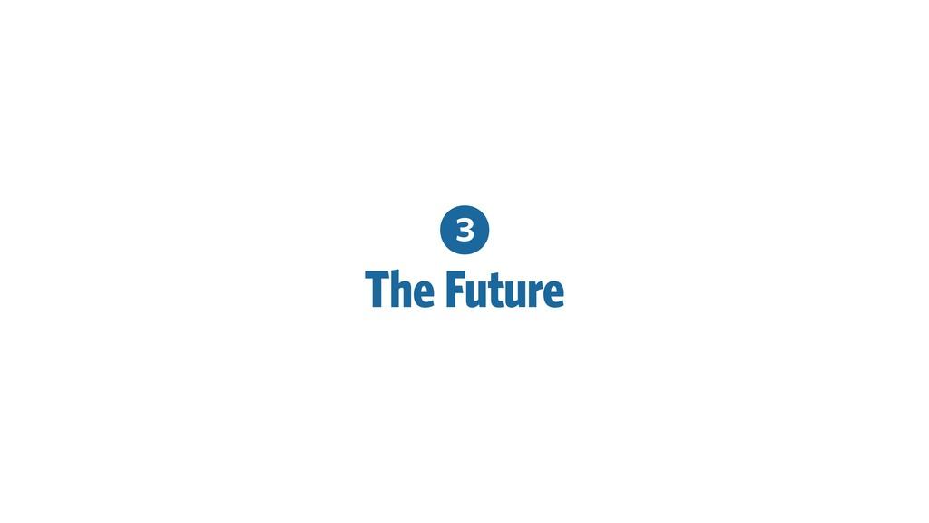 3 The Future