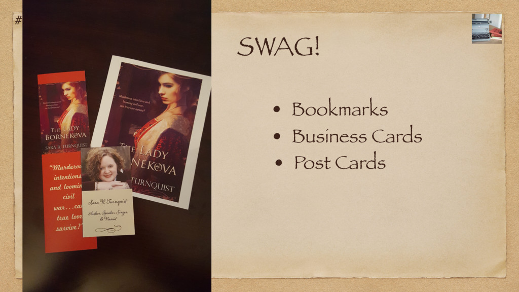 #CCW2017 SWAG! • Bookmarks • Business Cards • P...