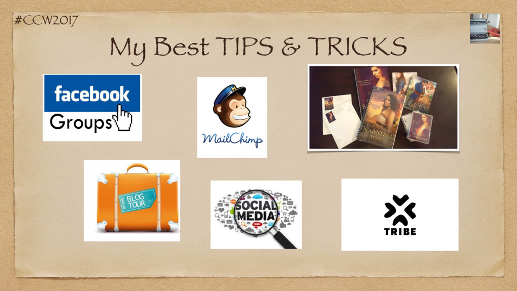 #CCW2017 My Best TIPS & TRICKS