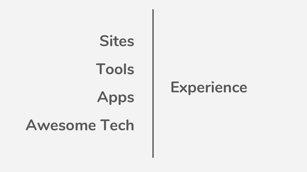 Sites Tools Apps Awesome Tech Experience
