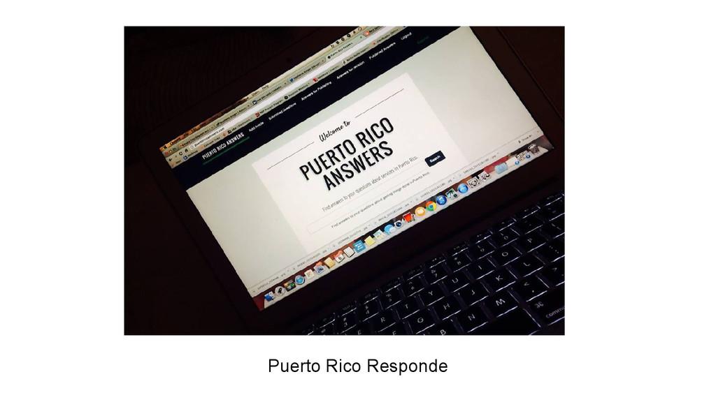 Puerto Rico Responde