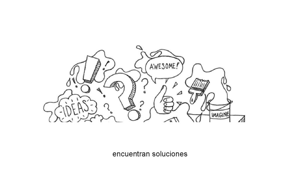 encuentran soluciones