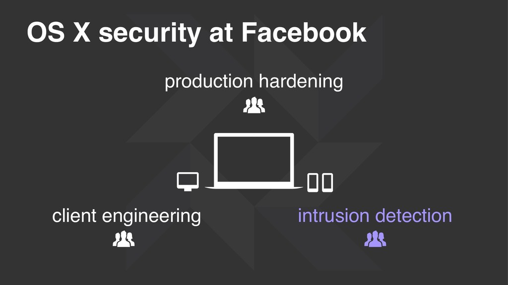 OS X security at Facebook production hardening ...