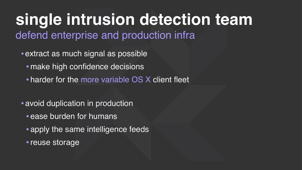 defend enterprise and production infra single i...