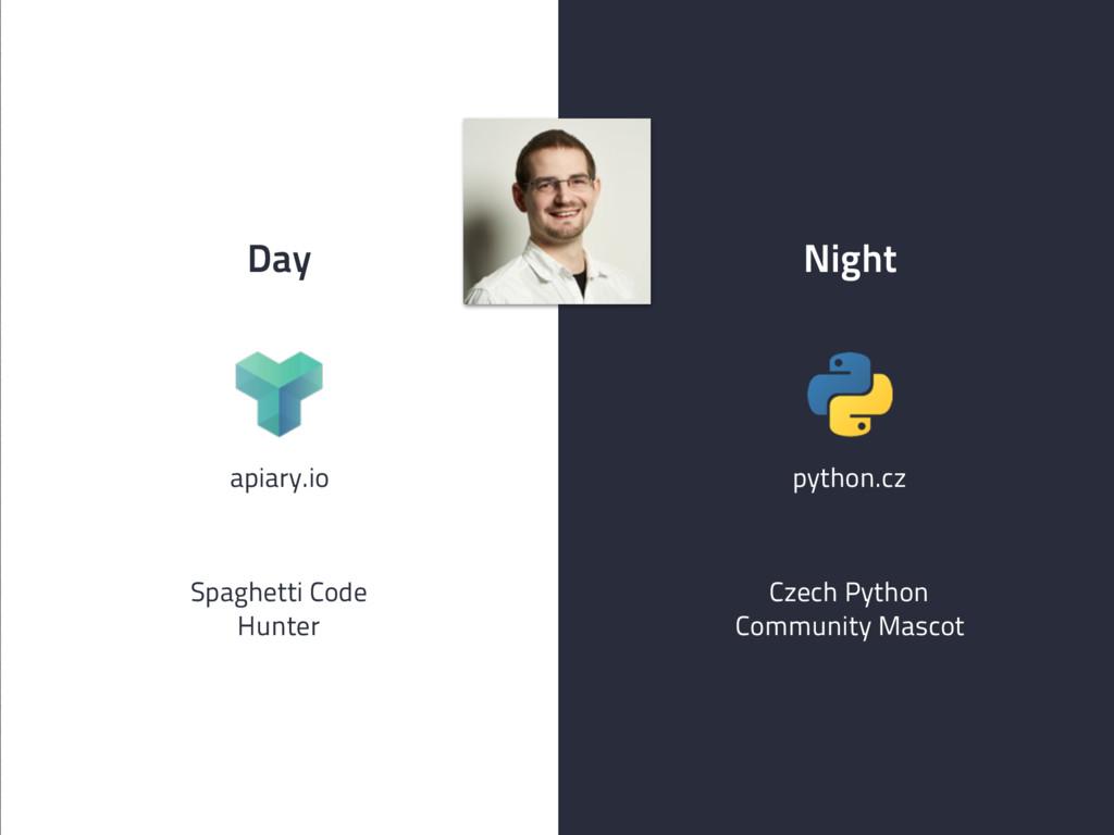 Day Night apiary.io Czech Python Community Masc...