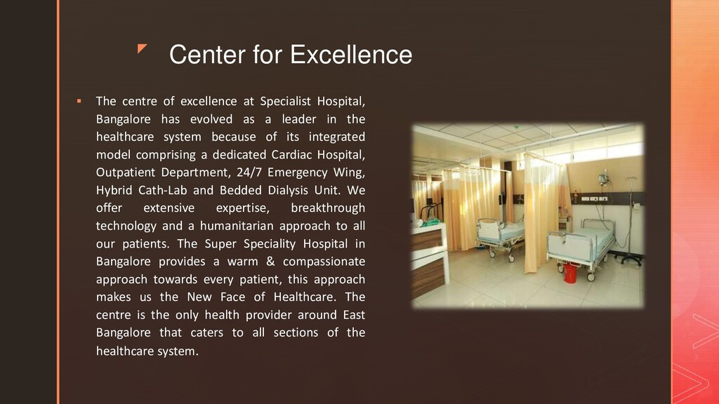 z Center for Excellence  The centre of excelle...