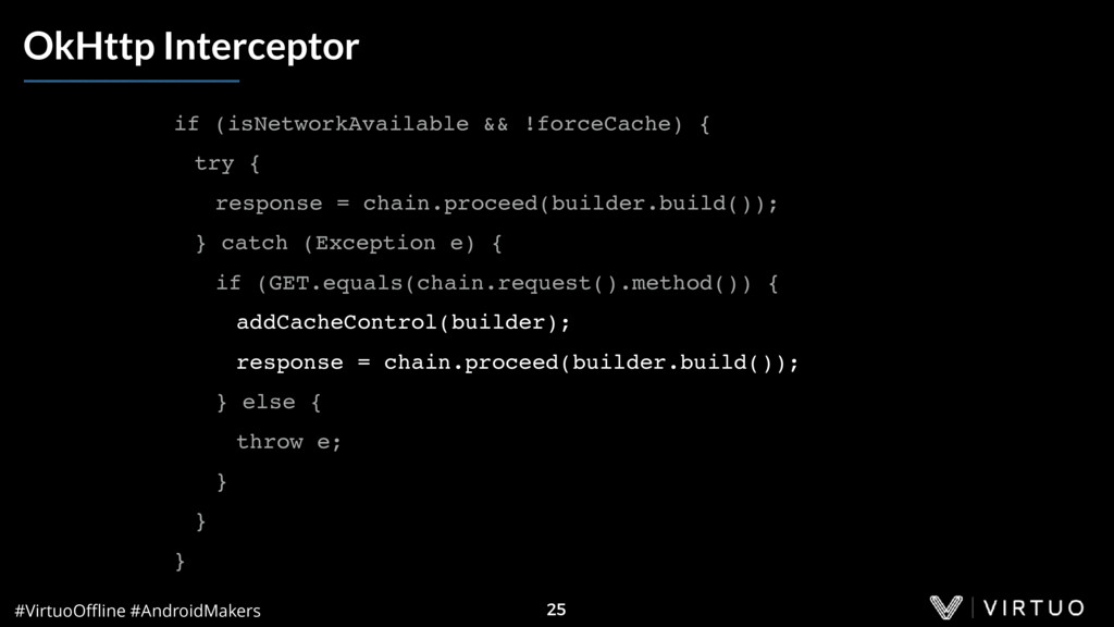 #VirtuoOffline #AndroidMakers 25 OkHttp Intercept...