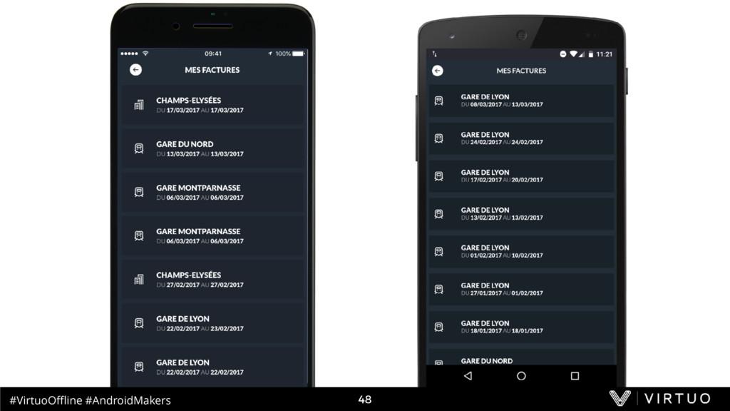 #VirtuoOffline #AndroidMakers 48