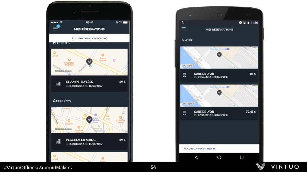 #VirtuoOffline #AndroidMakers 54