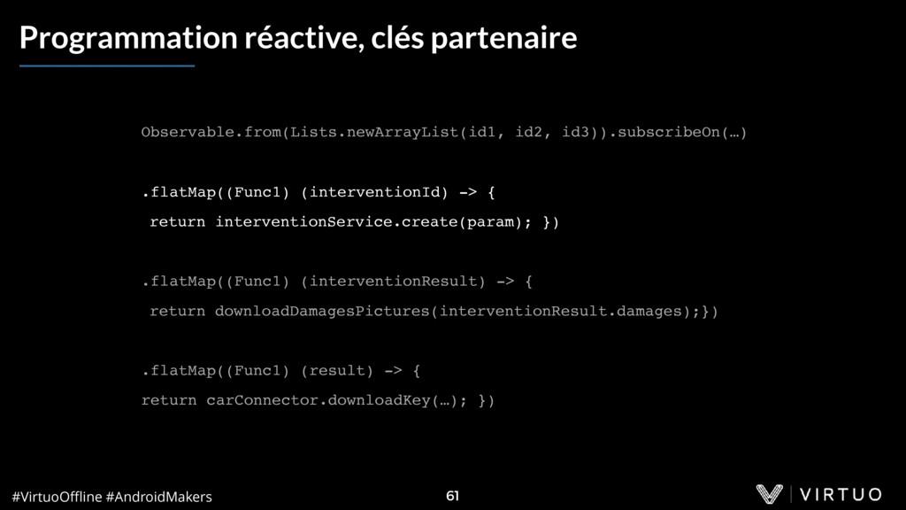 #VirtuoOffline #AndroidMakers 61 Programmation ré...