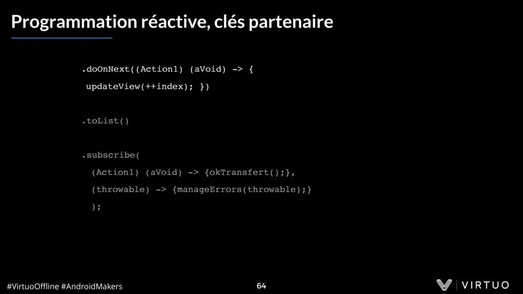 #VirtuoOffline #AndroidMakers 64 Programmation ré...