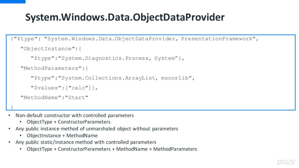 "System.Windows.Data.ObjectDataProvider {""$type""..."