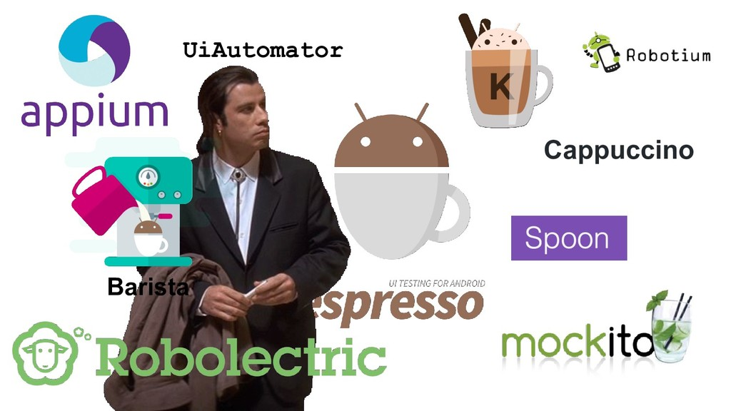UiAutomator Cappuccino Barista