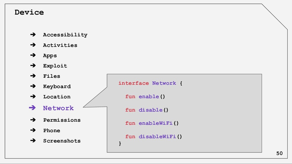 ➔ Accessibility ➔ Activities ➔ Apps ➔ Exploit ➔...