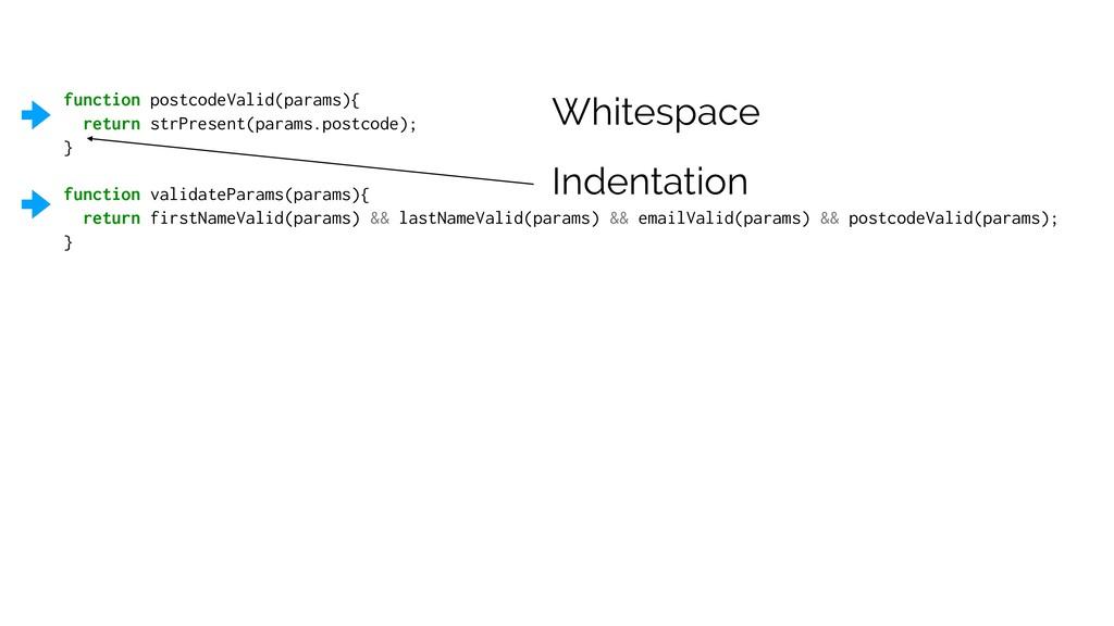 function postcodeValid(params){ return strPrese...