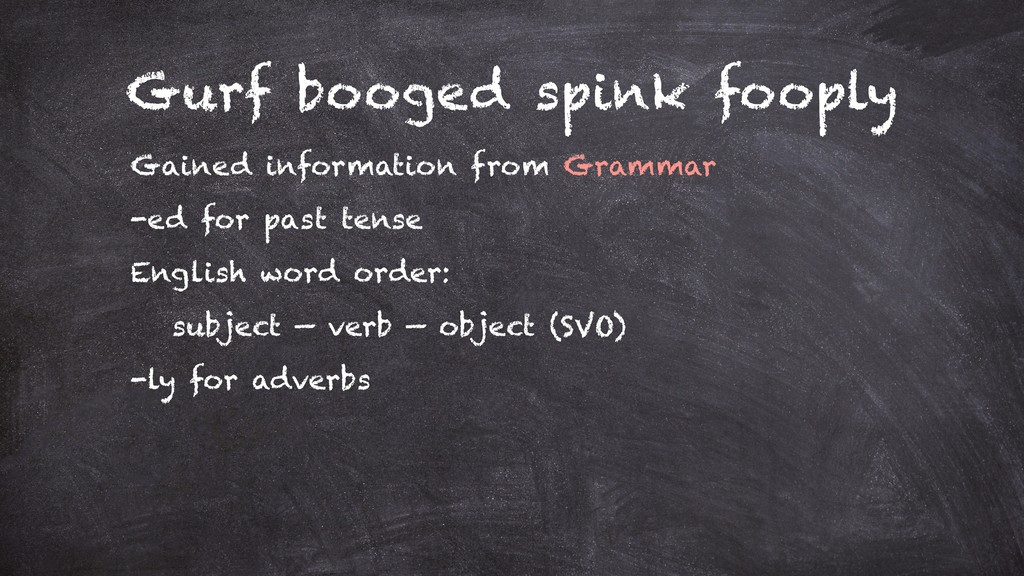 Gurf booged spink fooply Gained information fro...