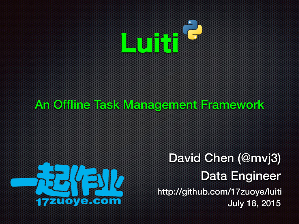 -VJUJ An Offline Task Management Framework David...