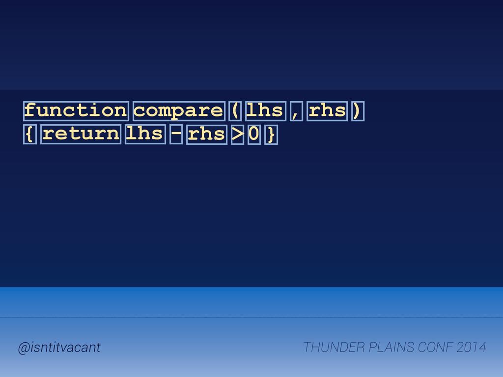 THUNDER PLAINS CONF 2014 @isntitvacant function...