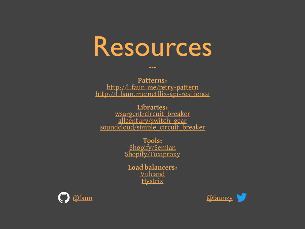 Resources --- Patterns: http://l.faun.me/retry-...