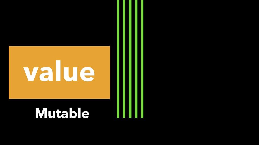 value Mutable
