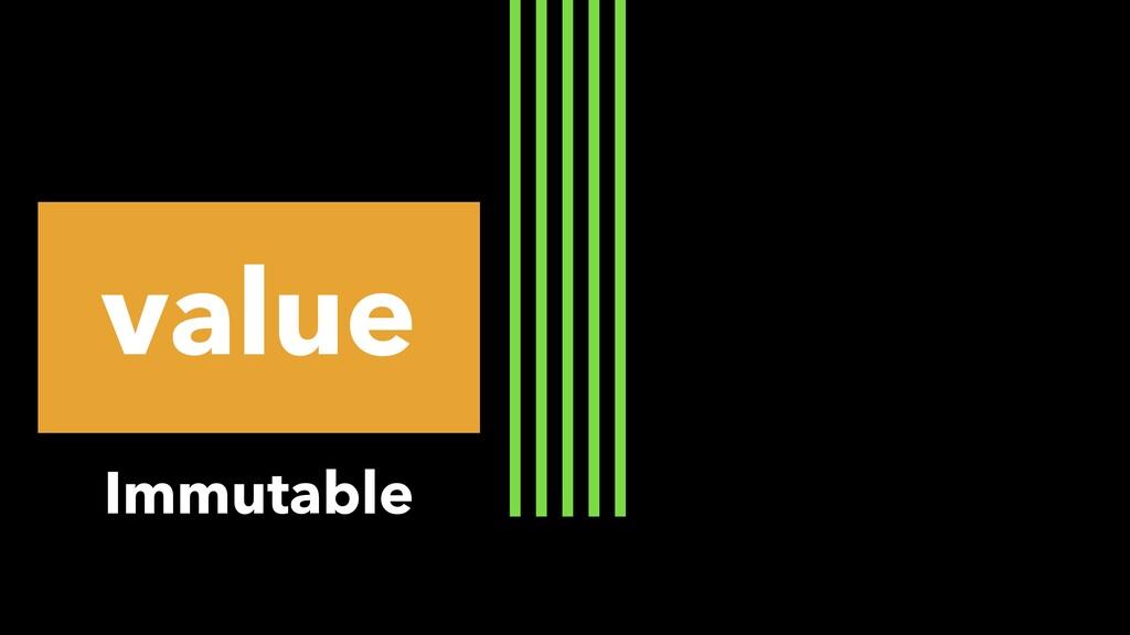value Immutable