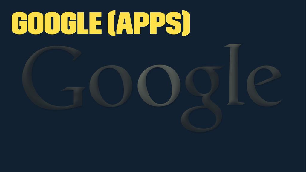 Google (apps)