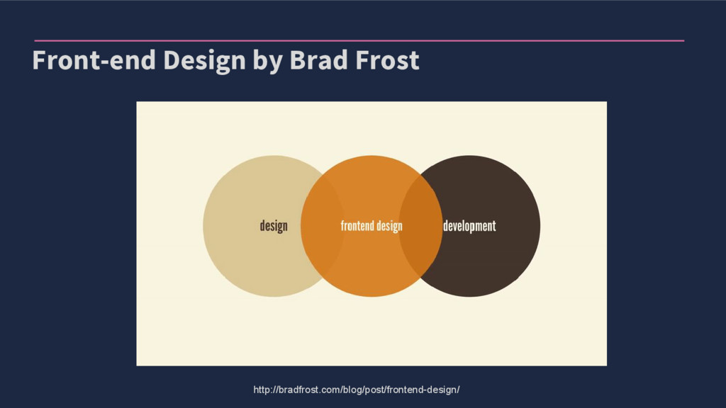 Front-end Design by Brad Frost http://bradfrost...