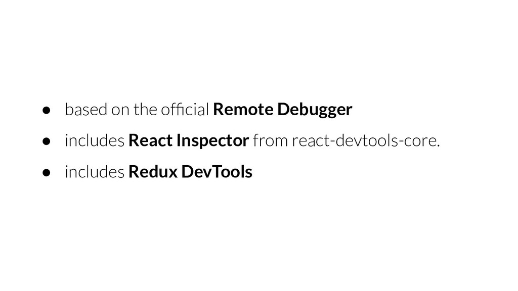● based on the official Remote Debugger ● includ...