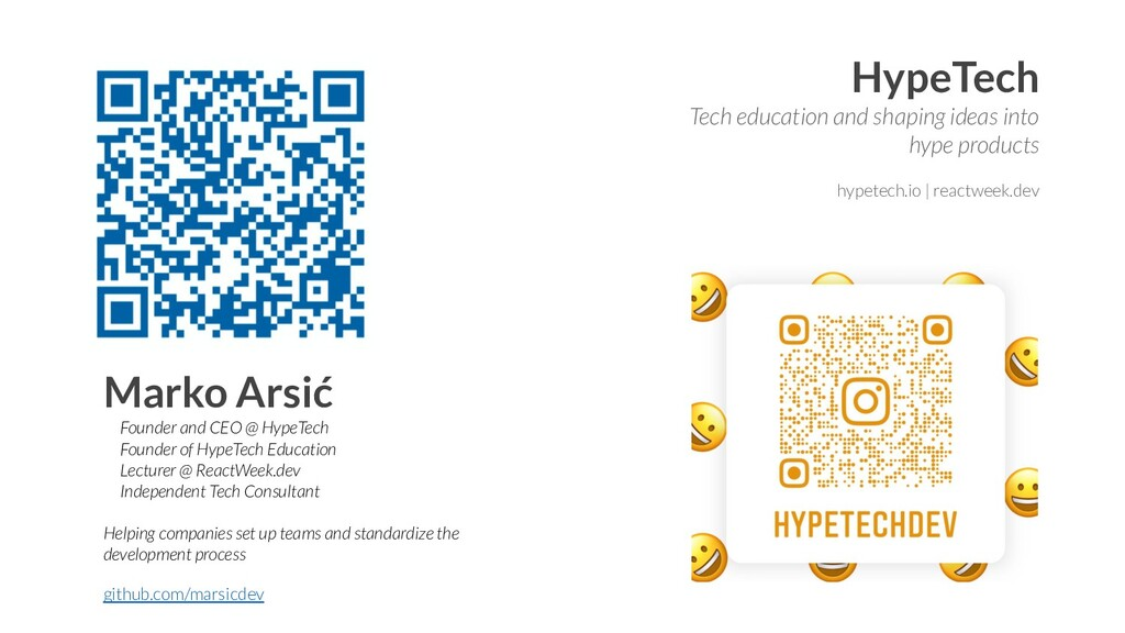 HypeTech Tech education and shaping ideas into ...