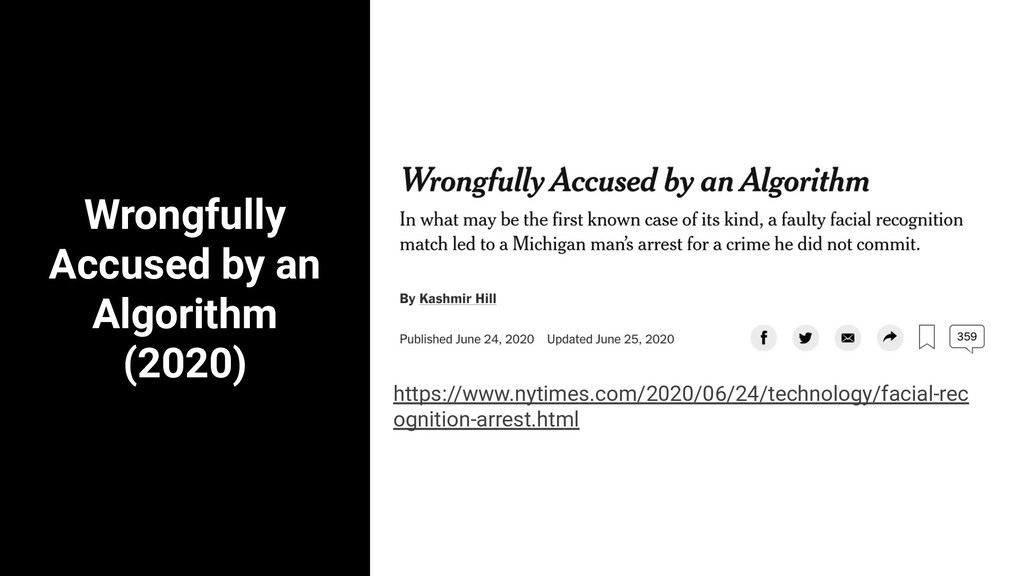 Wrongfully Accused by an Algorithm (2020) 5 est...
