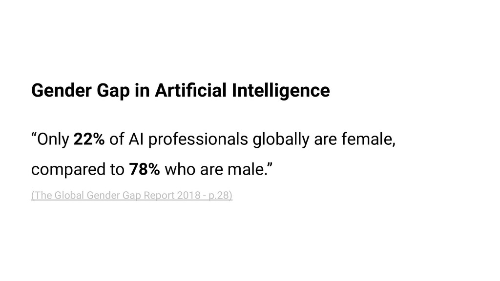 "Gender Gap in Artificial Intelligence ""Only 22% ..."